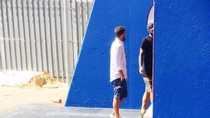 Primo scatto di Luca Berardocco al Riviera delle Palme