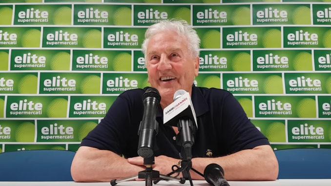 Il Presidente della Sambenedettese Franco Fedeli