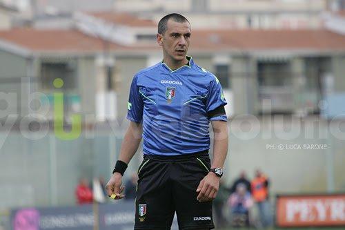 Arbitro Fabio Pasciuta